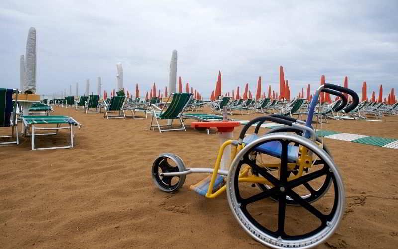 spiagge per disabili