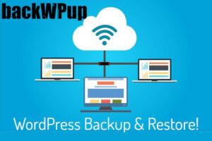wordpress backup: backwpup