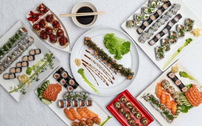 servizio piatti giapponese