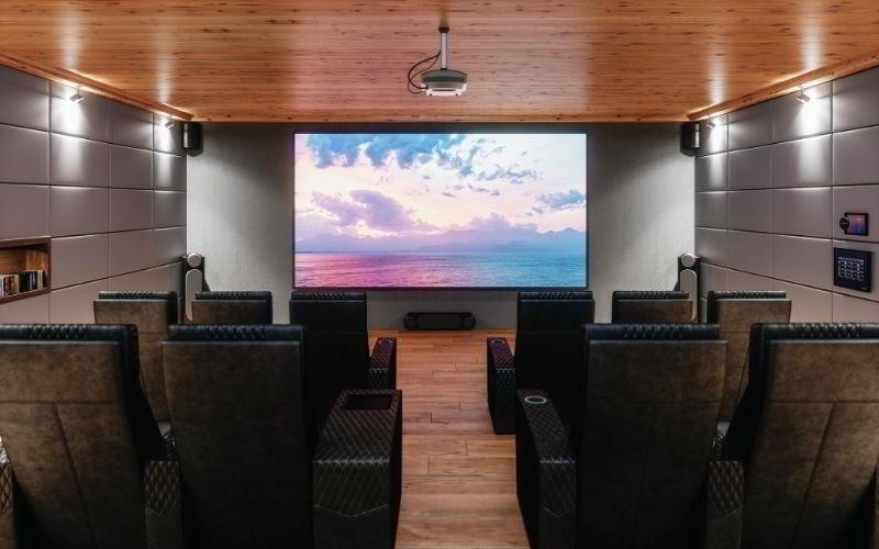 Come creare una sala cinema in casa